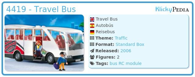 Playmobil 4419 - Travel Bus