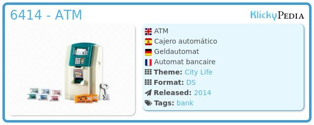 Playmobil 6414 - ATM