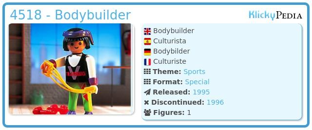 Playmobil 4518 - Bodybuilder