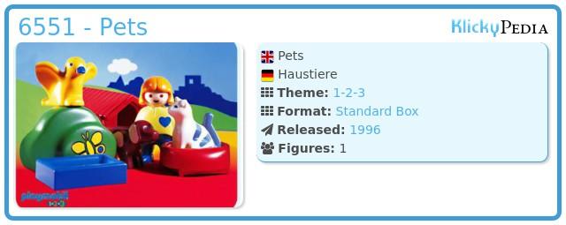 Playmobil 6551 - Pets