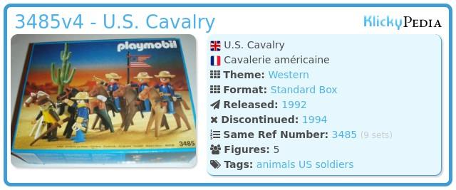 Playmobil 3485v4 - U.S. Cavalry