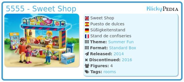 Playmobil 5555 - Sweet Shop