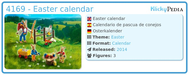 Playmobil 4169 - Easter calendar