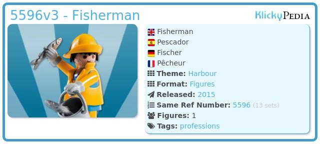 Playmobil 5596v3 - Fisherman