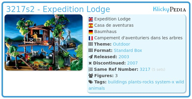 Playmobil 3217s2 - Expedition Lodge