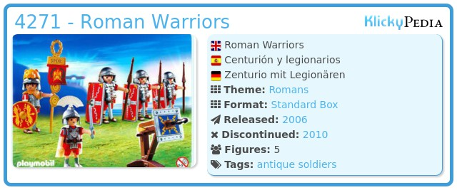 Playmobil 4271 - Roman Warriors