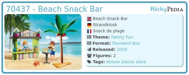 Playmobil 70437 - Beach Snack Bar