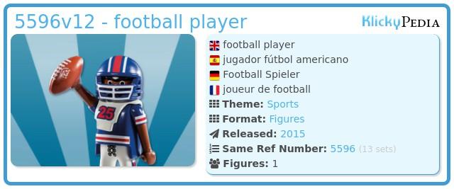 Playmobil 5596v12 - football player