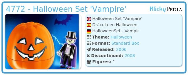 Playmobil 4772 - Halloween Set 'Vampire'