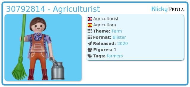 Playmobil 30792814 - Agriculturist