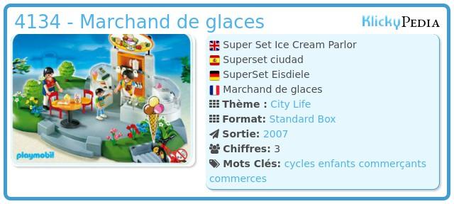 Playmobil 4134 - Marchand de glaces