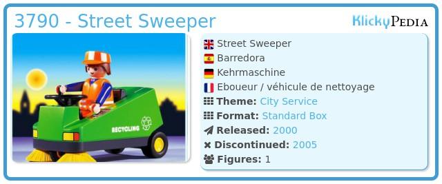Playmobil 3790 - Street Sweeper