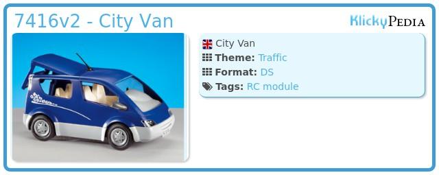 Playmobil 7416v2 - City Van