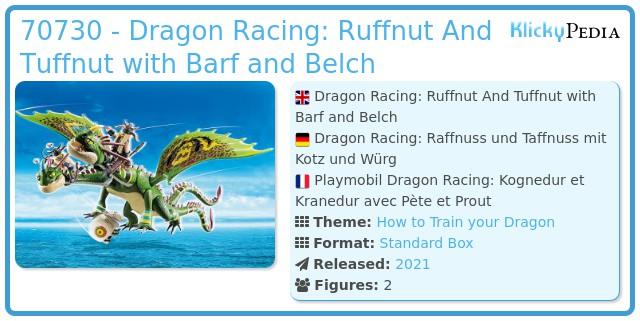 Playmobil 70730 - Dragon Racing: Ruffnut And Tuffnut