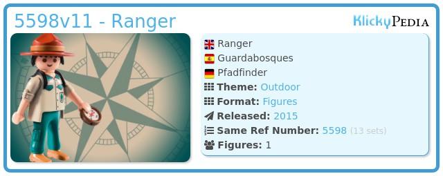 Playmobil 5598v11 - Ranger
