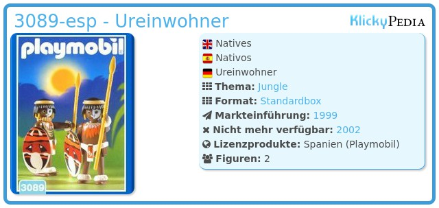 Playmobil 3089-esp - Ureinwohner