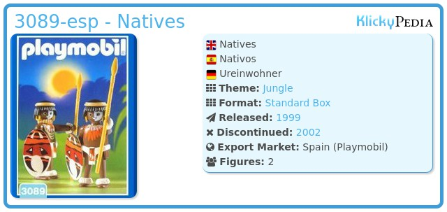 Playmobil 3089-esp - Natives