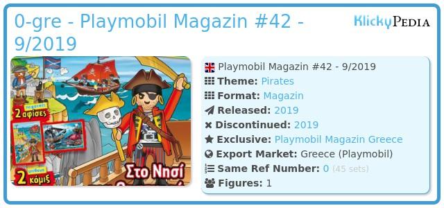 Playmobil 0-gre - Playmobil Magazin #42 - 9/2019