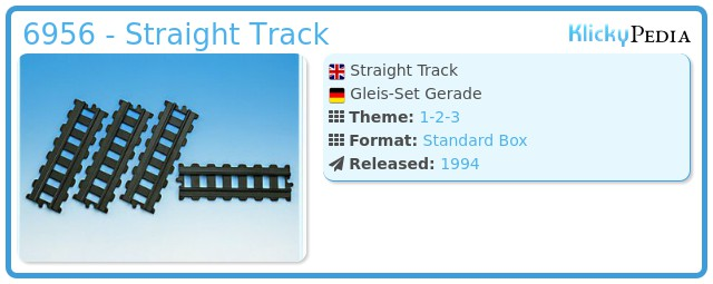 Playmobil 6956 - Straight Track