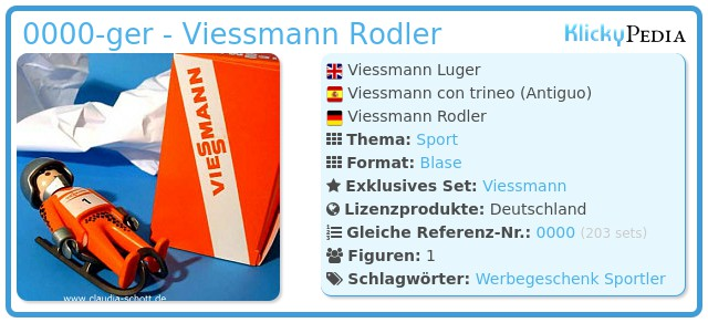 Playmobil 0000-ger - Viessmann Rodler