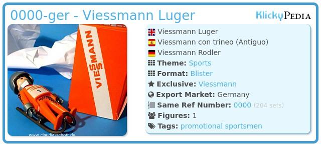 Playmobil 0000-ger - Viessmann Luger
