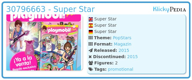 Playmobil 30796663 - Super Star