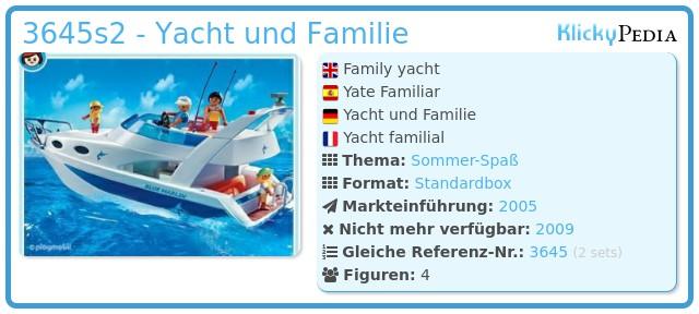 Playmobil 3645s2 - Yacht und Familie