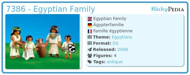 Playmobil 7386 - Egyptian Family
