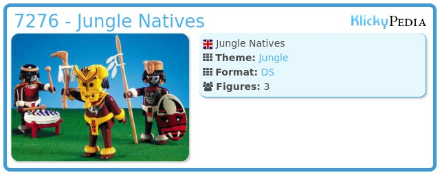Playmobil 7276 - Jungle Natives