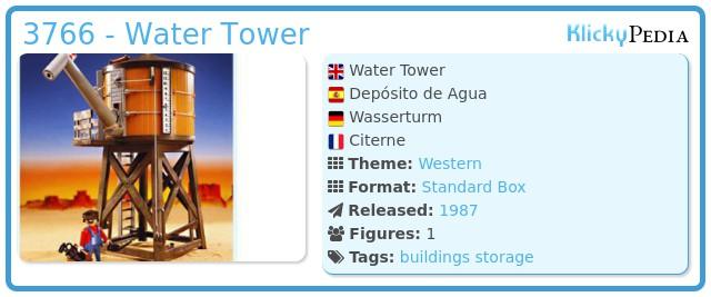 Playmobil 3766 - Water Tower
