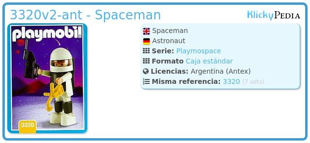 Playmobil 3320v2-ant - Spaceman
