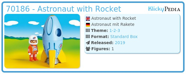Playmobil 70186 - Astronaut mit Rakete