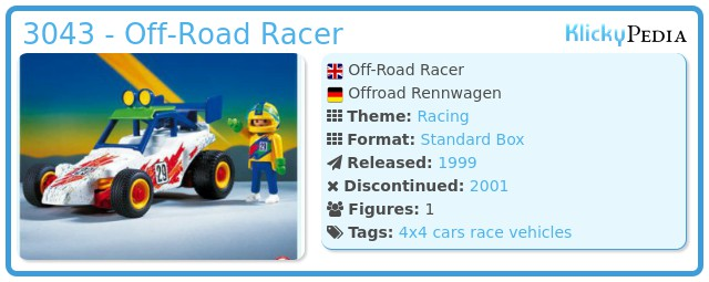 Playmobil 3043 - Off-Road Racer