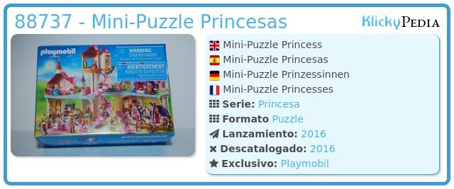 Playmobil 88737 - Mini-Puzzle Princesas