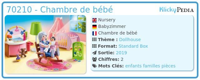 Playmobil 70210 - Baby's Room