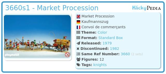 Playmobil 3660s1 - Market Procession