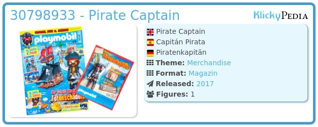 Playmobil 30798933 - Pirate Captain