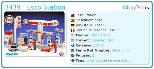 Playmobil 3439 - Esso Station