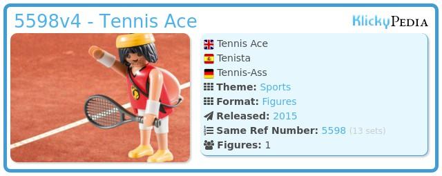 Playmobil 5598v4 - Tennis Ace