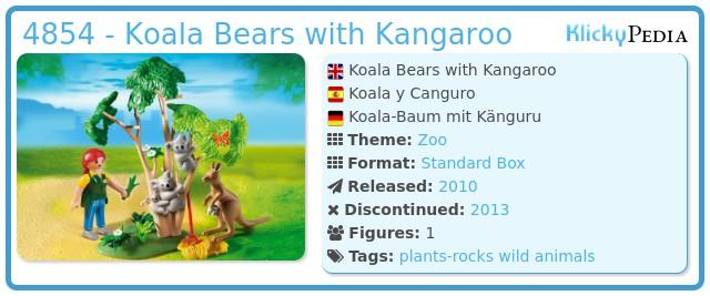 Playmobil 4854 - Koala Bears with Kangaroo