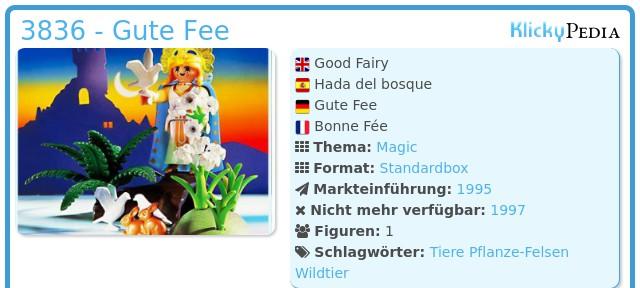 Playmobil Magic 3836  Gute Fee Playmobil