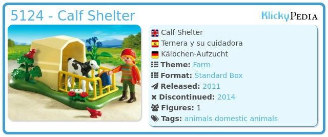 Playmobil 5124 - Calf Shelter