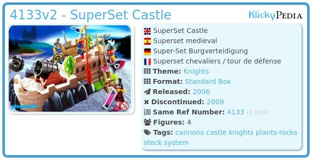 Playmobil 4133 - SuperSet Castle