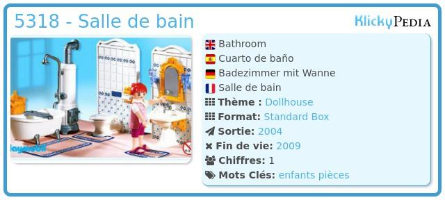 Playmobil 5318 - Salle de bain