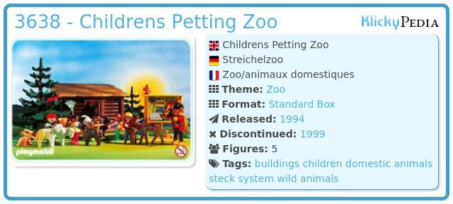 Playmobil 3638 - Childrens Petting Zoo