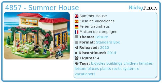 Playmobil 4857 - Summer House