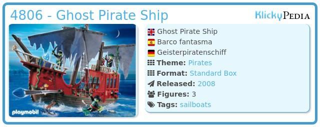 Playmobil 4806 - Ghost Pirate Ship