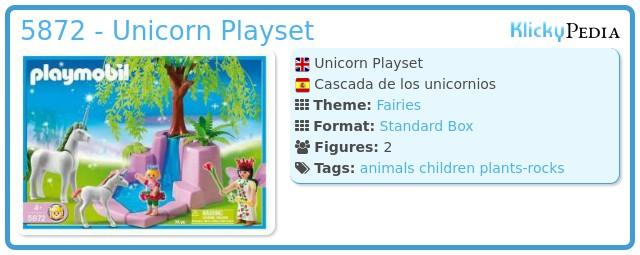 Playmobil 5872 - Unicorn Playset