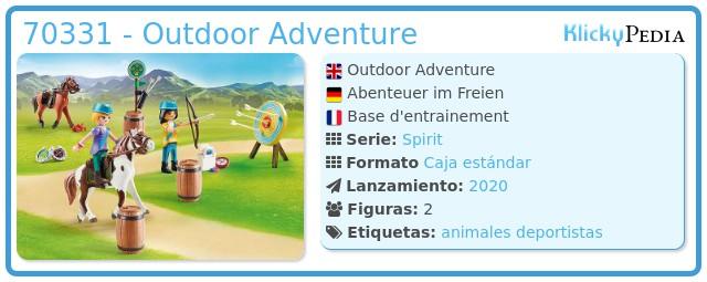 Playmobil 70331 - Outdoor Adventure