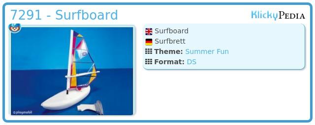 Playmobil 7291 - Surfboard